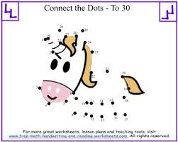 Connect The Dots Printable Sheets