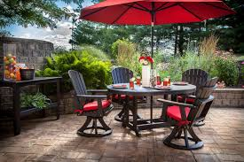 grey and red square classic wooden wayfair patio furniture astonishing small patio set