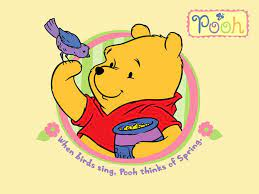 Free download Pooh and a Bird Winnie The Pooh Wallpaper [1024x768] for your  Desktop, Mobile & Tablet | Explore 47+ Winnie the Pooh Spring Wallpaper |  Winnie The Pooh Desktop Wallpaper, Winnie