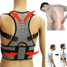 Adjustable Posture Corrector Back Support Shoulder Lumbar Brace Belt Men Women ADJUSTABLE POSTURE CORRECTOR
