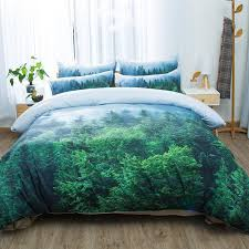 wheat field snow mountain tree forest 3d scenic bedding set twin queen king size duvet cover bed sheets pillowcase digital print bedding sets comforter sets