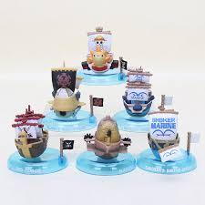 <b>6pcs</b>/<b>lot</b> Japan Anime One Piece ship Thousand <b>Sunny</b> Going Merry ...