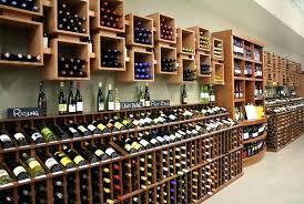 wine case shelves retail wine display racks wine cubes kit custom  commercial solution kitchen shelves design