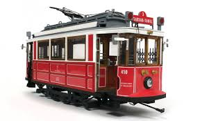 occre istanbul tram 1 24 scale wood metal model kit
