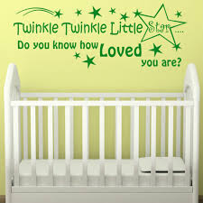 >twinkle twinkle little star wall art sticker