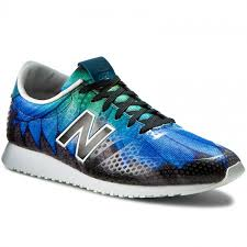 new balance lifestyle. sneakers new balance - lifestyle wl420dfb blue colourful new balance