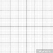 Graph Grid Millimeter Paper Vector Illustration Sticker Pixerstick