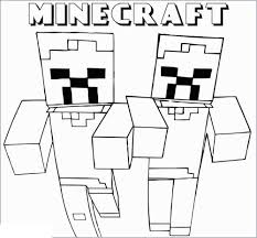 These popular printable minecraft coloring pages feature steve, creepers, ender dragons, zombies, skeletons, minecraft animals and many others. Minecraft Coloring Pages Free Printable Coloring Pages For Kids