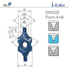 Center Drill Chart Nine9 I Center Indexable Center Drill Insert Din332 Form A B Buy Indexable Center Drill Product On Alibaba Com
