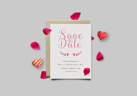 save the date template free download save the date invitation card mockup psd graphicsfuel