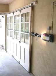 diy sliding garage door screens sliding garage door garage door screen