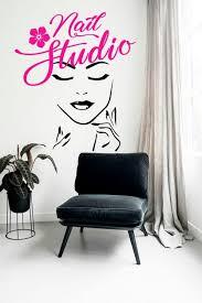 13 unique nail salon wall decor ideas