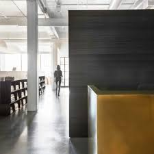 interior designs for office. Nicole Hollis Creates Blackened Wood Library For Its San Francisco Studio. Interior Design Designs Office