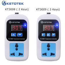 50~110C <b>Digital</b> Thermostat <b>AC 110 220V Digital</b> Temperature ...