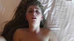 Cute girl having an orgasm