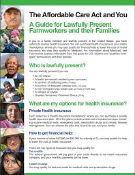 How does private health insurance impact your tax? Aca Guide For Lawfully Present Farmworkers And Their Families 2015 Farmworker Justice