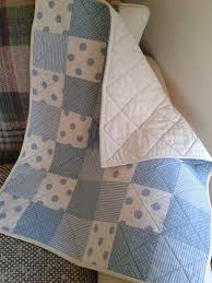 1638 best Quilt images on Pinterest | Nursery, Baby quilts and Crafts & Blue Patchwork Baby Quilt baby boy by PollysPrettyPrints on Etsy, €70.00 Adamdwight.com