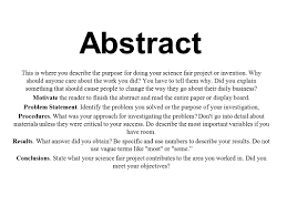 How To Write Ch Paper Abstract Samples For Pdf Apa Style Page
