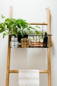 modern bathroom shelving. Natural Wood Elements Stand Out Against Neutral Tones In This Modern Bathroom Remodel. Shelving