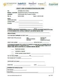 Credit Card Release Form Credit Cards Authorization Form Template 39 Ready To Use Templates
