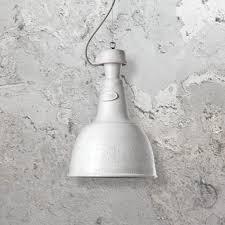 white ceramic pendant light