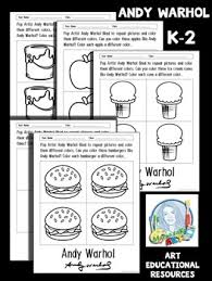 Andy Warhol Coloring Pages Courtoisiengcom