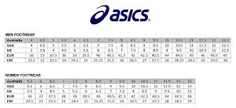 Competent Asics Tights Size Chart Asics Onitsuka Tiger Rio