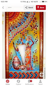 Egyptian Glass Painting Designs Pin By Pooja Gupta On Paintings In 2020 African Paintings