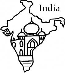 India Flag And Map Colouring Pages Az Coloring Pages Designs For