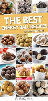 looking for a new favorite energy ball recipe look no further than this list of