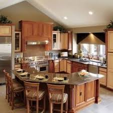 Best 25+ L shaped island kitchen ideas on Pinterest | Kitchen island depth, Kitchen  island cabinet depth and Kitchen island with table