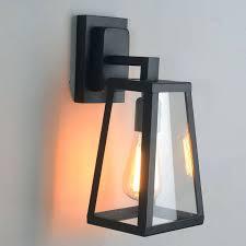 sconce modern outdoor lighting fixtures details about antique matte black lantern outdoor wall light fixture