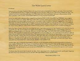 william lynch letter day 20 the willie lynch letter debunked the royal men