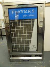 Inside Vending Machine Magnificent A Player`s Cigarettes Chrome Vending Machine By Wistoft Lacking Inside