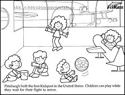 Bimbi Che Giocano Da Colorare Immagini Per Bambini Da Colorare
