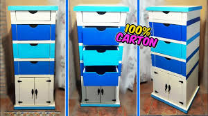 Awesome Crafts That You Can Do With Cardboard Filing Cabinet With Drawers Diy Mr Diy