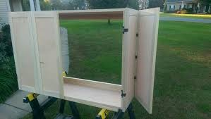 wall mounted tv cabinet with doors