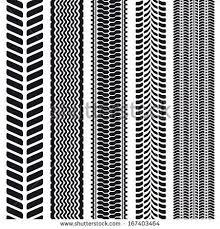 tire tread texture seamless. Fine Seamless Set Of 5 Tire Treads Seamless Texture Vector Illustration By Ilyarexi  Via Shutterstock On Tire Tread Texture S
