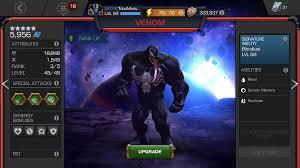 Venom Prestige Marvel Contest Of Champions