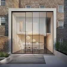 minimalist patio door cero solarlux