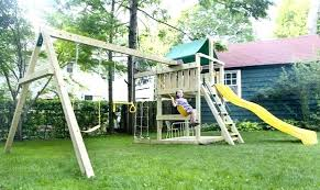 outdoor playset plans a dad explains why a is better than one you free outdoor outdoor playset plans