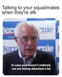Bernie Sanders Attacked A Lot Meme Template
