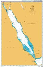 British Admiralty Nautical Chart 4704 Red Sea