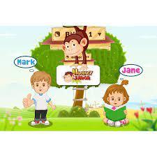 thẻ học Monkey Junior cho bé