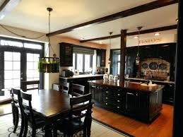 black kitchen cabinets with white marble countertops. Medium Size Of Traditional Black Kitchen Cabinets With Wood Floors Beautiful In Dark Kitchens Dream White Marble Countertops