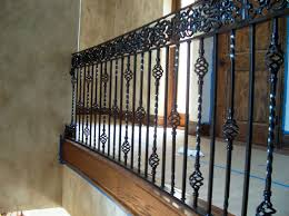 ... Wrought Iron Stair Railing Double Basket Weave/Frieze (#SR-56) ...