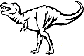 Small Picture Trex Coloring Page Coloring Home