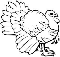 Printable Coloring Pages Splendid Happy Thanksgiving Within Turkey