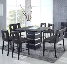 modern counter height table. High Top Dining Set Modern Counter Height Table Attractive Tables Furniture For In 6 S