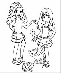 Small Picture surprising lego friends coloring pages with friends coloring pages